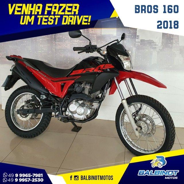 Bros 160 2018 Vermelha