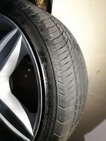 Aro 17 e 4 pneus - Foto 2