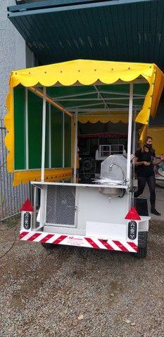 carretinha, carrinho de caldo de cana - Foto 4