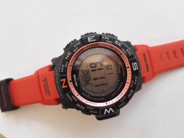 Relógio Casio Protek PRW-3500 à prova dágua - Foto 3