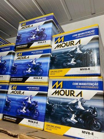 Bateria Moura para motos suzuki  yes intruder gsr150 entrega todo Rio  - Foto 4