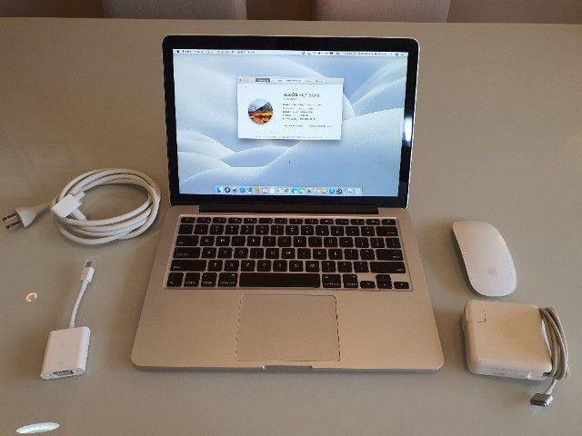 """MacBook Pro Retina 13"""" Core i7 Ram 8GB Ssd 500GB Modelo A1502 + Acessórios Originais Apple - Foto 2"""