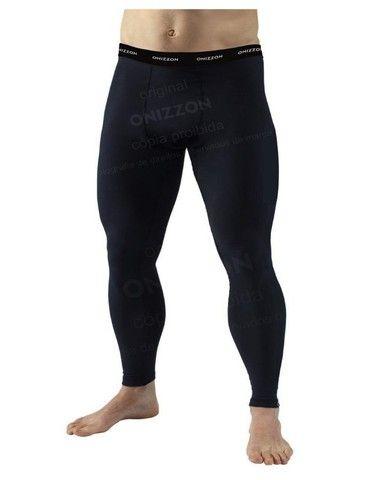 Calça de compressão para treino masculina legging térmica