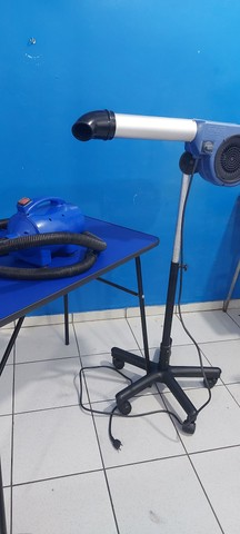 Kit para banho e tosa soprador secador mesa - Foto 3