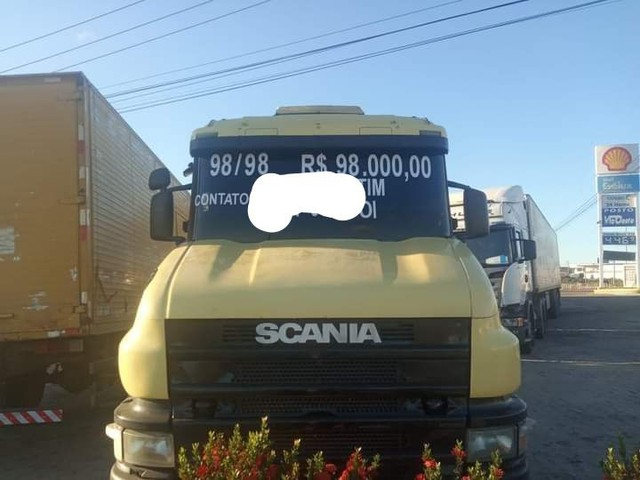 Cavalo mecânico  Scania 114 , ano 98/98
