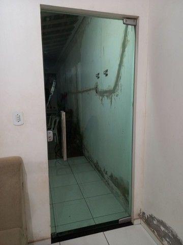 Porta e janela vidro blindex