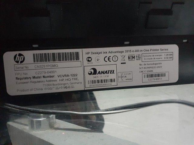 Impressora HP 3515 Deskjet  - Foto 2