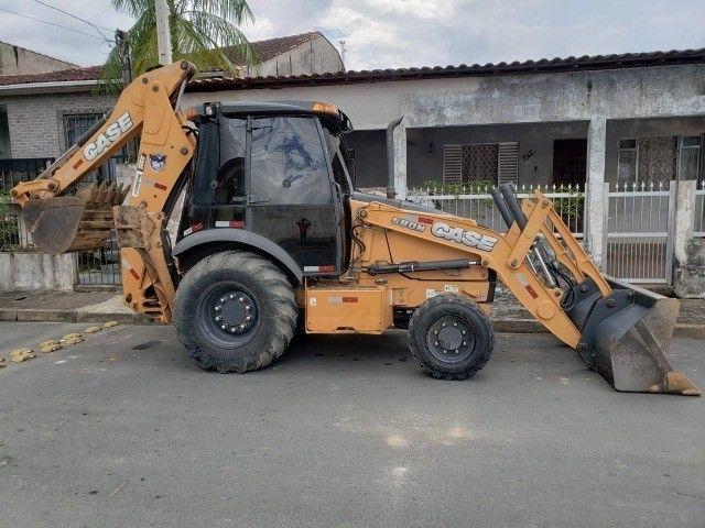 Retroescavadeira Case 580N 4x4 2018