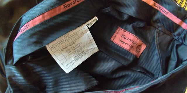 Terno com Calça Preto Navaratti Modelo Super 120s - Foto 5
