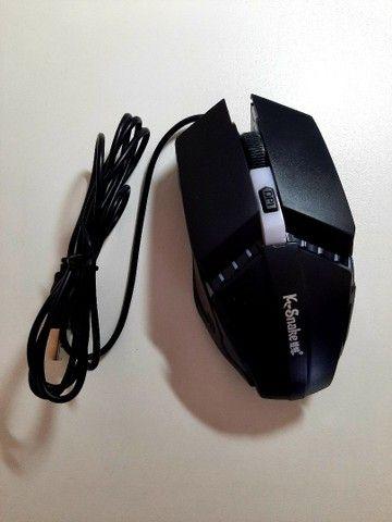 Mouse Gamer K-Snake M11 Luminosidade - Foto 3
