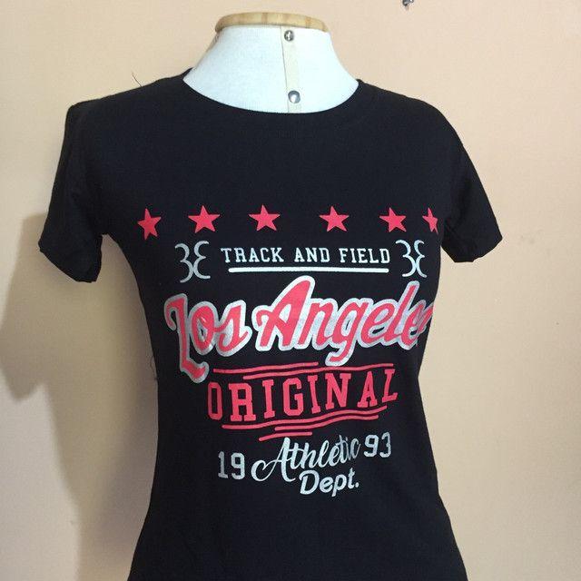 T-Shirts 100%  algodão - Novas  - Foto 2