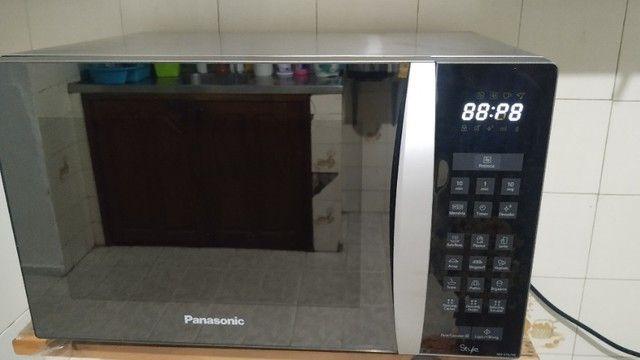 Microondas Panasonic style usado - Foto 5