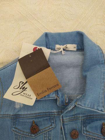 Colete jeans novo Sly - Foto 3