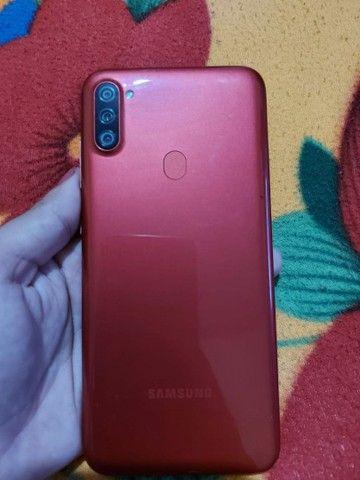 Samsung A11, 64gb e 3 de ram. - Foto 2