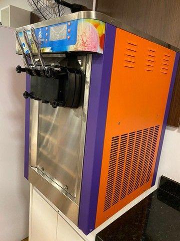 Máquina de sorvete expresso, italiano, Logro Soft L22A