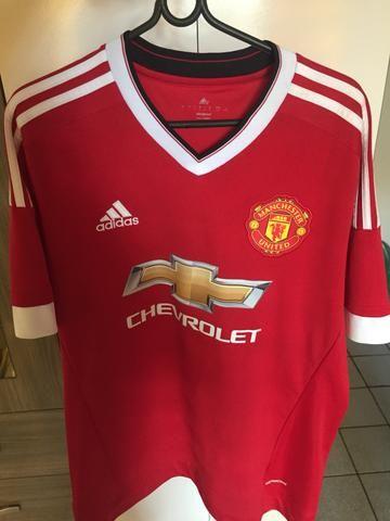 Camisa oficial Manchester United Adidas
