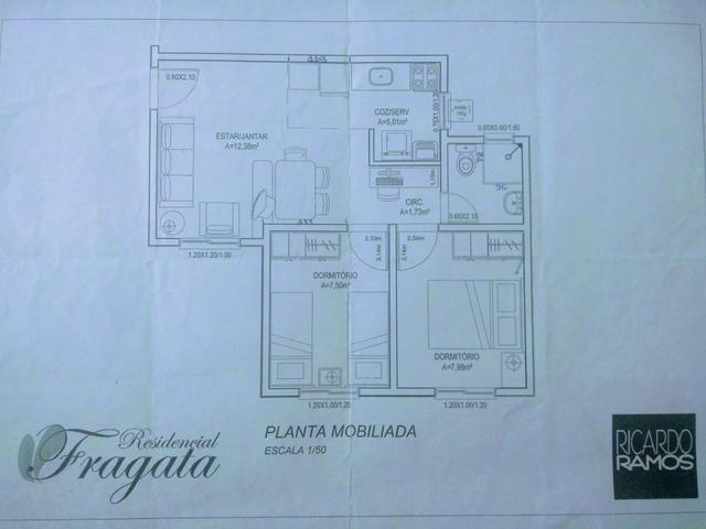 Apartamento no Fragata