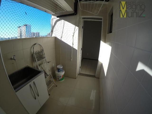 Apartamento com 3 dormitórios à venda, 116 m² por r$ 390.000,00 - cocó - fortaleza/ce - Foto 5