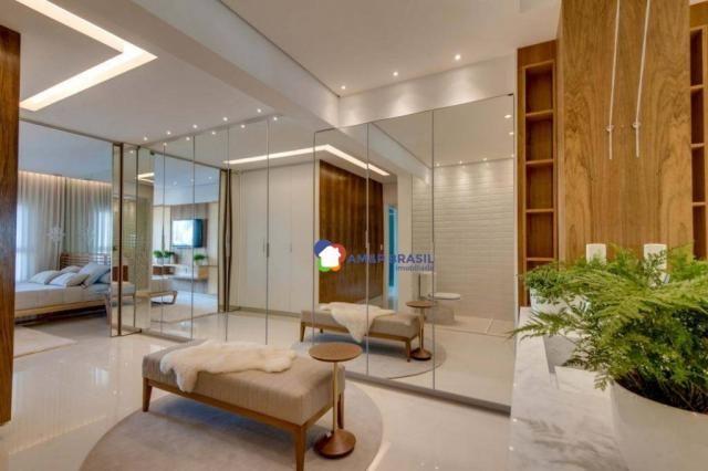 Apartamento com 3 dormitórios à venda, 178 m² por r$ 1.115.500,00 - setor marista - goiâni - Foto 7