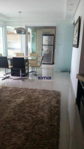 Apartamento com 3 dormitórios à venda, 122 m² por r$ 729.000 - setor bueno - goiânia/go