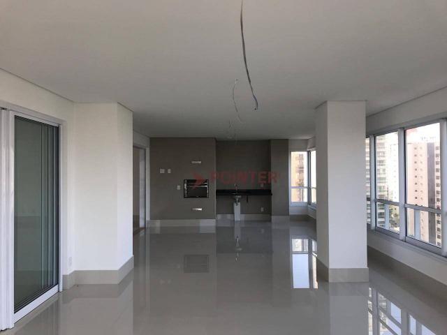 Apartamento 4 suítes com 5 vagas de garagem no setor marista goiânia - go. - Foto 8