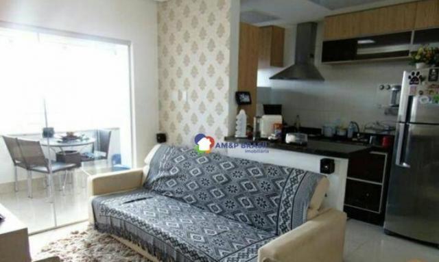 Apartamento com 2 dormitórios à venda, 69 m² por r$ 250.000,00 - parque amazônia - goiânia - Foto 5