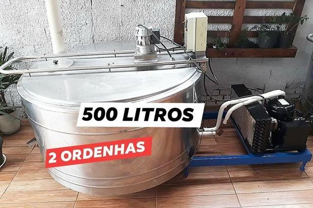 Resfriador agranel 500 litros