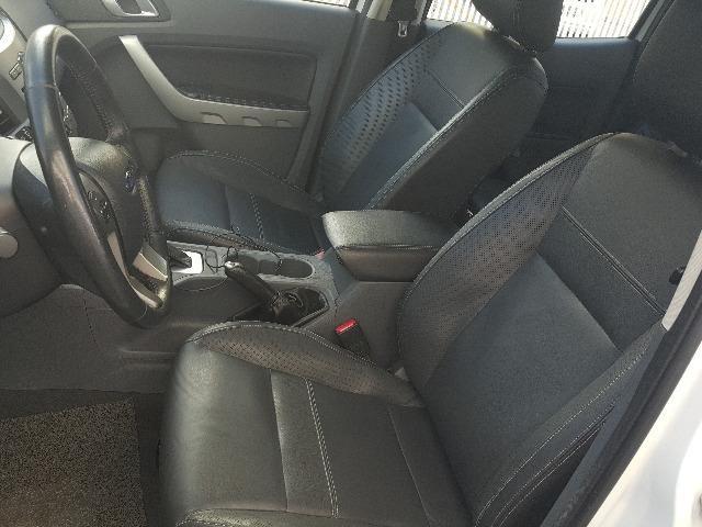 Ford Ranger Branca XLT 3.2 4x4 - Diesel - Foto 11