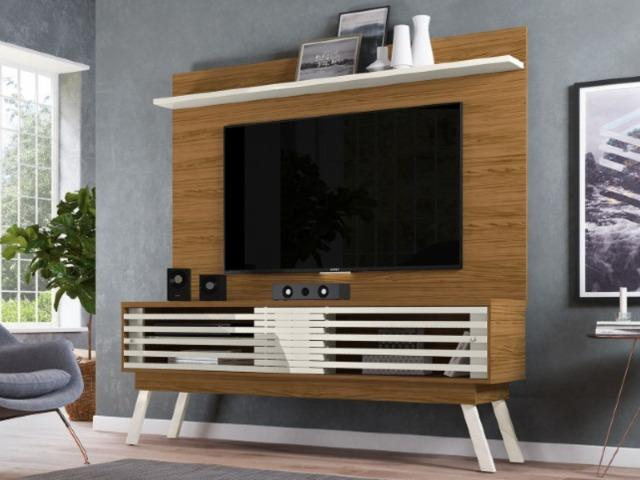 Rack + Painel Frizz Lorenzo 1.5.6 TV até 60 Polegadas - Foto 3