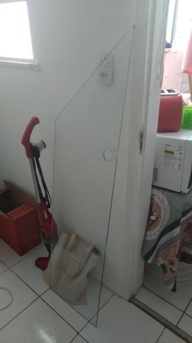 Bancada de Vidro Temperado com Suporte - Foto 2
