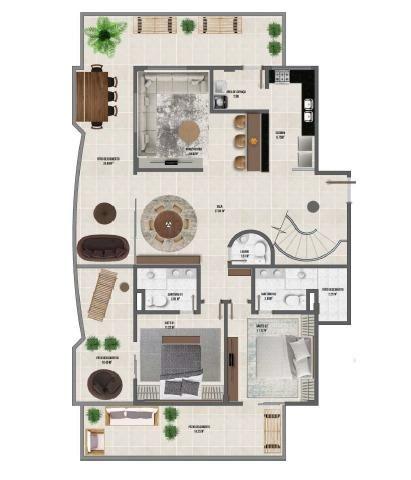 Residencial Lotus 2/4 e 3/4 - Foto 3