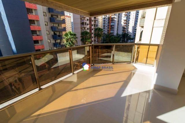 Apartamento com 3 dormitórios à venda, 230 m² por r$ 940.000,00 - setor bueno - goiânia/go