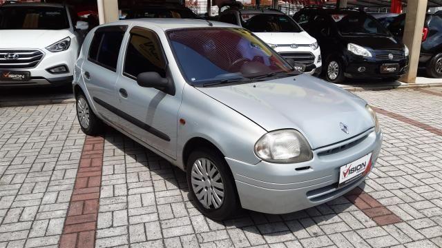 RENAULT CLIO 2001/2001 1.0 RL 16V GASOLINA 4P MANUAL - Foto 2
