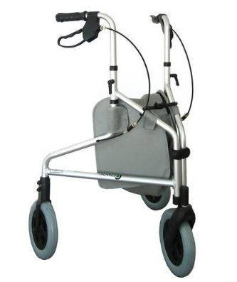 Andador 3 rodas, Praxis