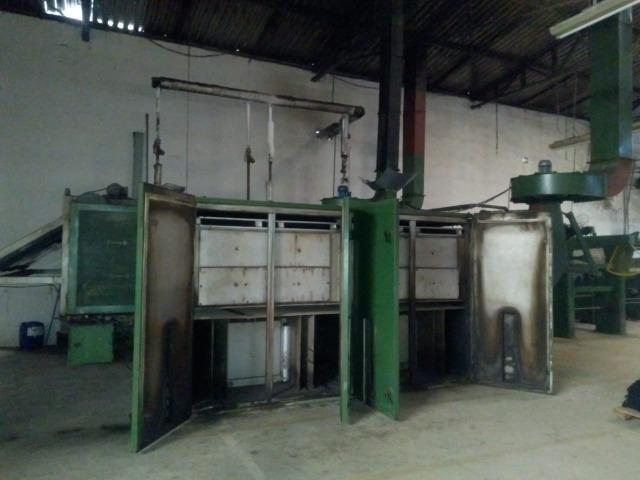 Secador 2 campos a vapor