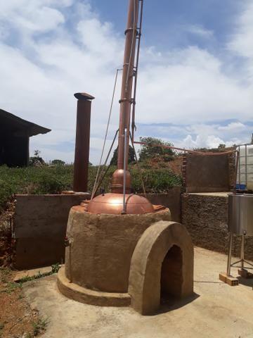 ALAMBIQUE com micro usina de etanol e cachaça - Foto 5