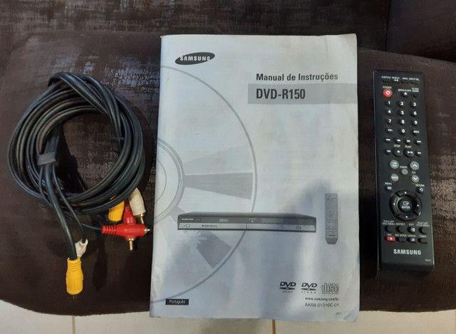 Gravador de DVD R150 Samsung - Foto 2