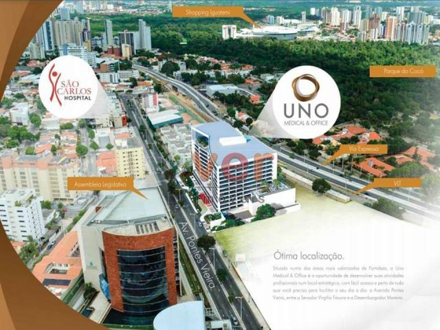 Sala à venda, 34 m² por R$ 430.000,00 - Dionisio Torres - Fortaleza/CE - Foto 2