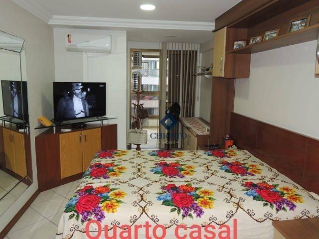Apto com 3 Qtos à venda, 145 m² por R$ 690.000 - Praia de Itapuã. - Foto 8