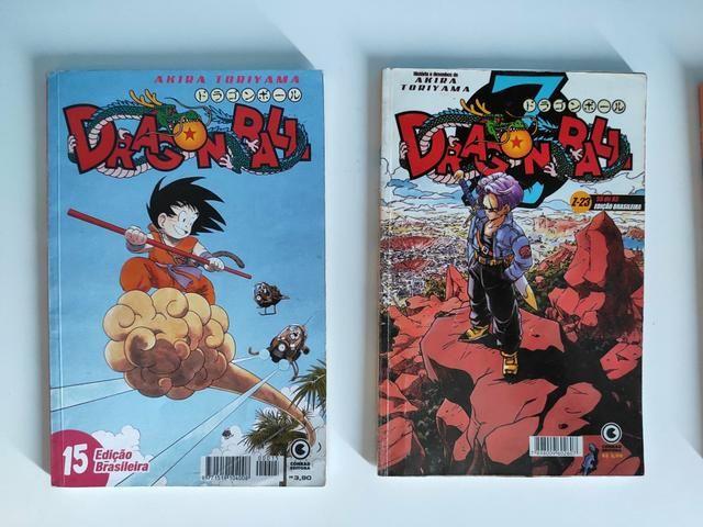 Mangás Fairy Tail,DragonBalll e DragonBallZ - Foto 3