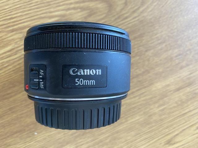 Vendo lente 50mm da Canon Foz do Iguaçu - Foto 3