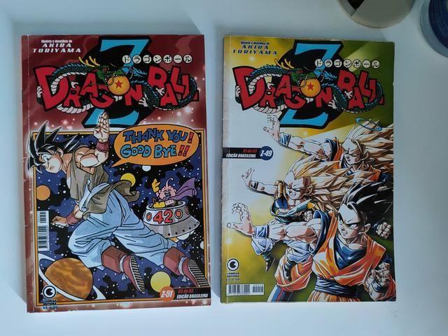 Mangás Fairy Tail,DragonBalll e DragonBallZ - Foto 2