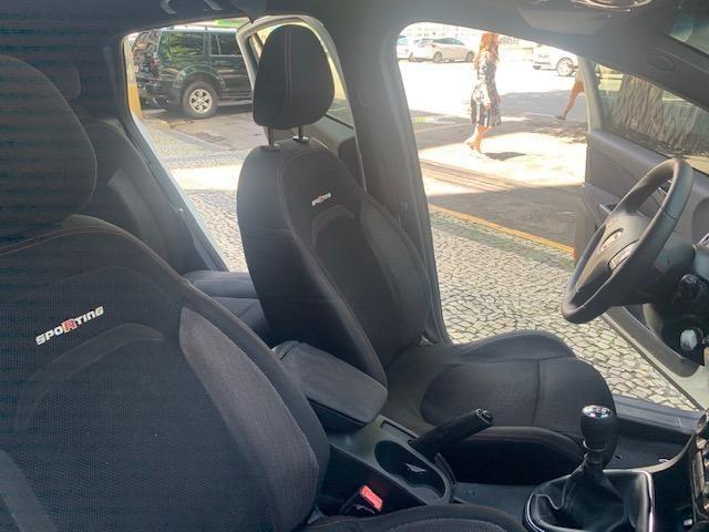 Fiat Bravo Sporting Manual TOP + Teto Solar + Multimídia + GNV 5a IPVA 20 Pago 2014 - Foto 9