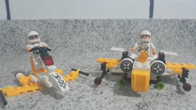 Legos Batman, Dino, Sorveteria e astronautas - Foto 3