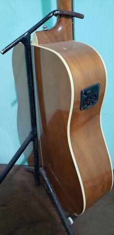 Vendo Violão Tagima TW-25 Woodstock, usado - Foto 4