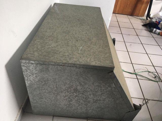 Coifa + Exaustor de 30cm Semi Novos - Foto 2