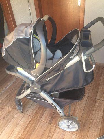 carrinho de bebê: chicco bravo travel system - Foto 2