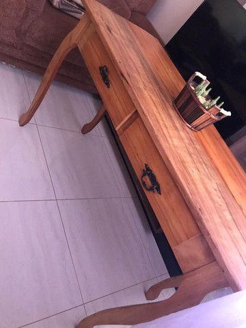 Mesa Madeira Demolição - Rústica - Foto 2
