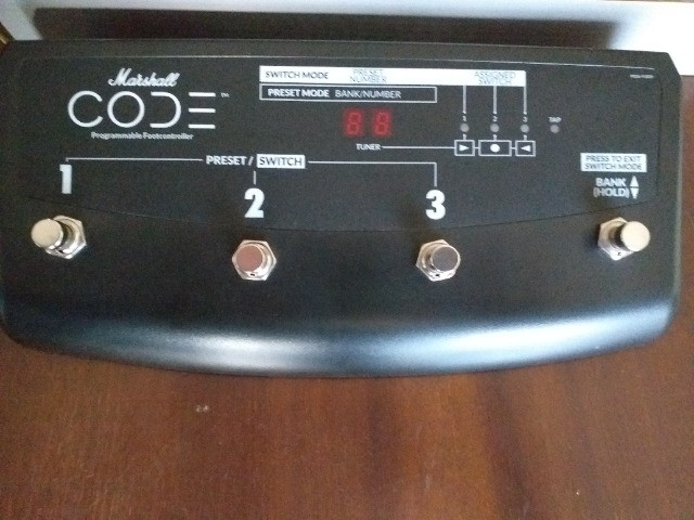 Footswitch PEDL-91009 Marshall CODE - Foto 2