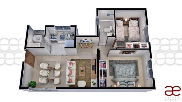 Apto A219 Bairro Cidade Verde, 2 quartos. Registro e Itbi grátis. 49 m², Valor 120 mil - Foto 11